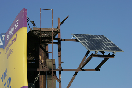 solar-panel-powers-billboard
