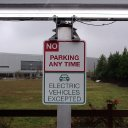 ev-parking-only-sign-solar-energy-usa
