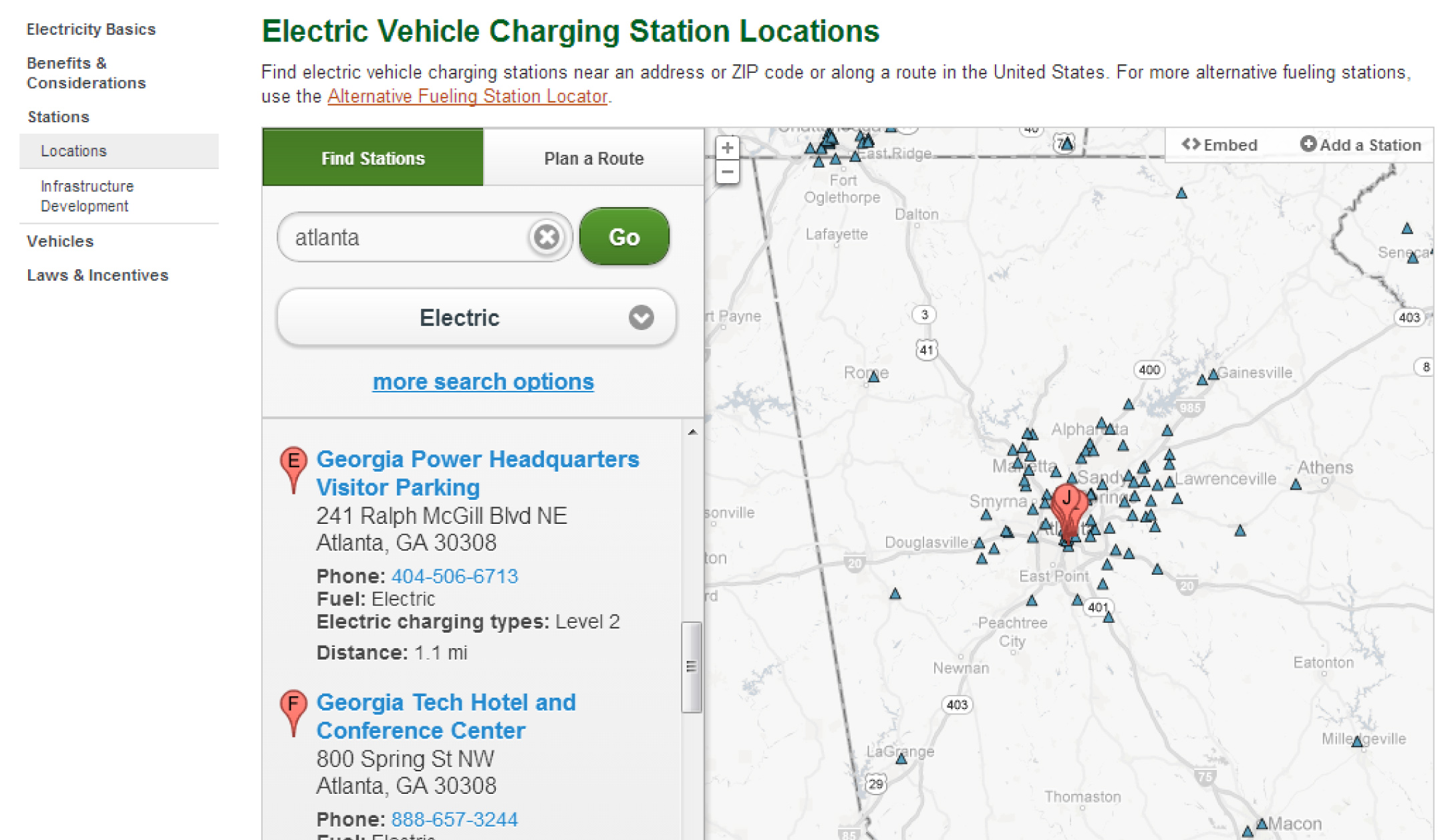 Electric Vehicles And Solar Power Solar Energy USA Blog Archive - Us map of ev charging stations