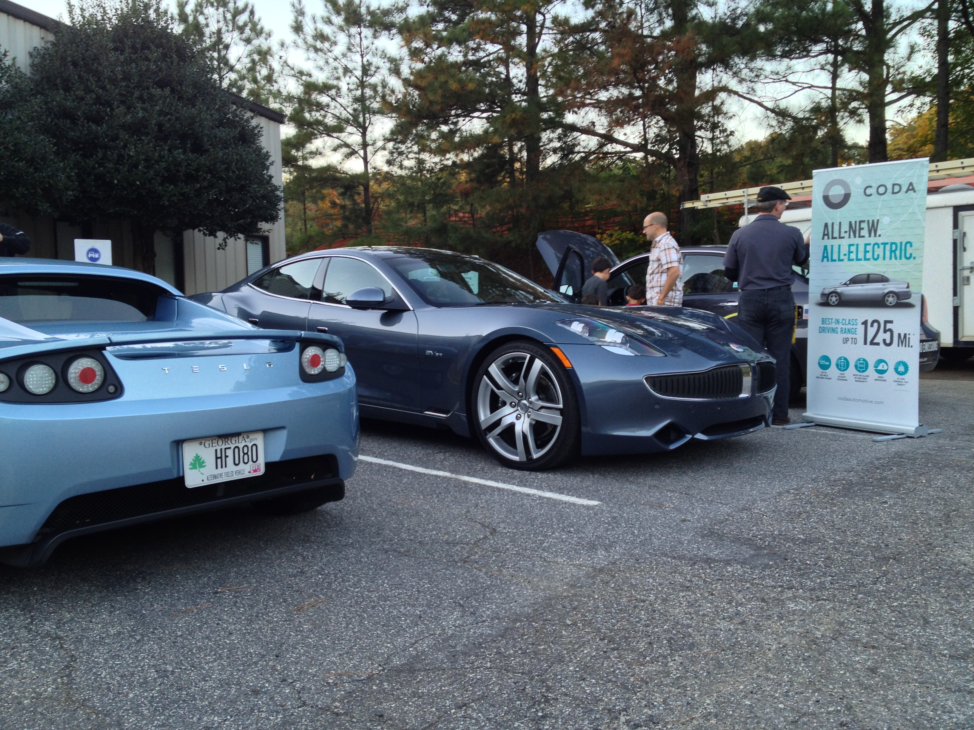 Event Recap Electric Car Show And Revenge Film Viewing Solar - Car show usa