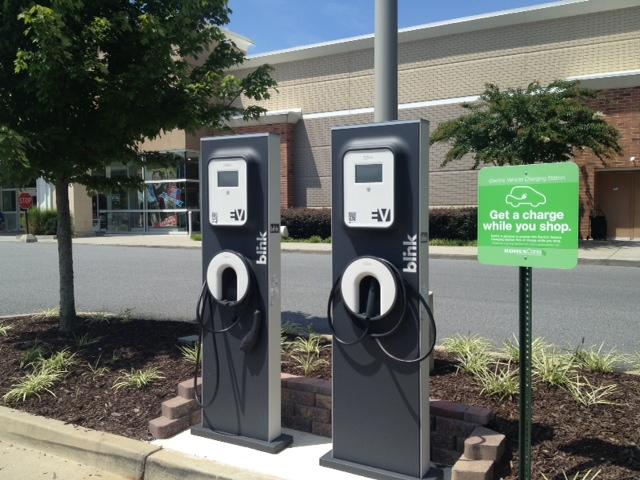 Electric Vehicle Charging Station Kohls Milton Georgia