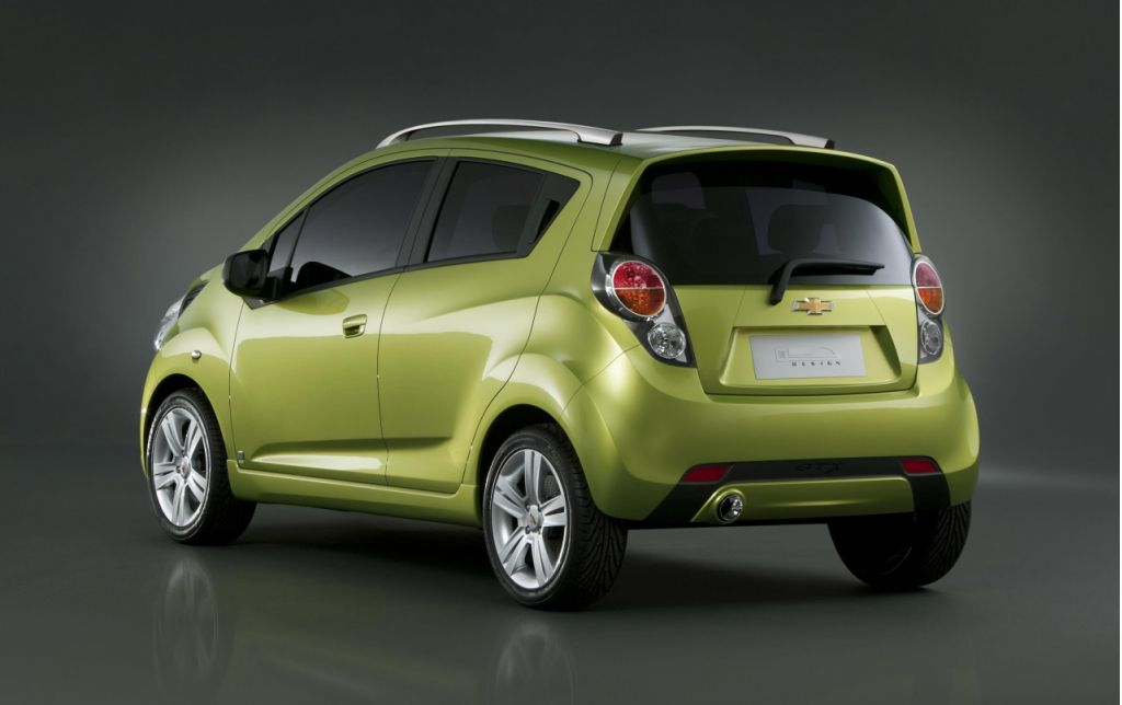 621d8a6d7b7e Chevy To Debut All-Electric  Spark  Car